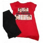 Pijama menina One Direction Vermelho