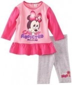 Pijama Minnie Baby Candy