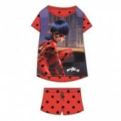 Pijama Prodigiosa Ladybug - 10 anos