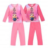 Pijama Rosa Micro-Polar Minions sortido