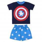 Pijama Verão Capitão América Avengers Marvel