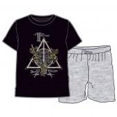 Pijama Verão Deathly Hallows Harry Potter