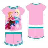 Pijama Verão Frozen - sisters