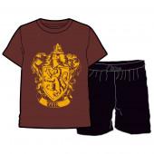 Pijama Verão Gryffindor Harry Potter