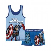 Pijama Verão Marvel Avengers 6 unid