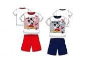 Pijama Verão Mickey Marin Sortido