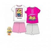 Pijama Verão Minions 4 Und