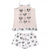 Pijama Verão Minnie Faces Disney