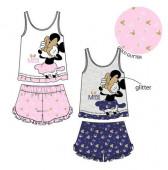 Pijama Verão Minnie Gold Glitter Disney