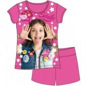 Pijama verão Sou Luna Smile (pack 3unid)