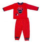 Pijama Vermelho para bebé Minnie Mouse