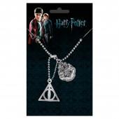 Pingente Identificação Relíquias Morte Harry Potter