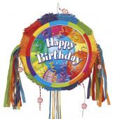 Pinhata Colorida Happy Birthday
