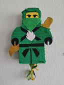 Pinhata Lego Ninjago Verde Lloyd 40cm