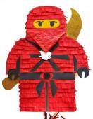 Pinhata Lego Ninjago Vermelho Kai 40cm
