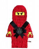 Pinhata Lego Ninjago Vermelho Kai