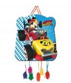 Pinhata pequena Mickey Races 28x33cm
