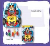 Pinhata Perfil Mickey Races 46cm