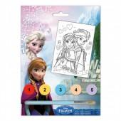 Pinta por numeros Disney Frozen