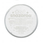 Pintura Facial Snazaroo Branco Sparkle 18ml