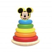 Pirâmide Madeira Mickey 7 Pcs Disney