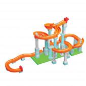 Pista Encaixes Roller Coaster 128 Blocos Unico Plus