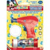 Pistola Bolas de sabão + tubo bolas Mickey Disney