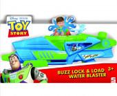 Pistola de Água Buzz Lightyear Dispara e Bloqueia Toy Story