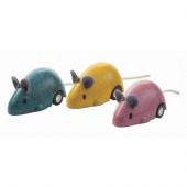 Plan Toys - 3 Ratinhos em Movimento