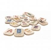 Plan Toys - Alfabeto Braille de A a Z