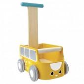 Plan Toys - Andador - Van Amarelo