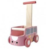 Plan Toys - Andador - Van Rosa