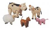 Plan Toys - Animais da Quinta Madeira