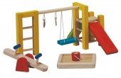 Plan Toys - Baloiços Casa Bonecas Madeira