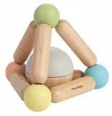 Plan Toys - Brinquedo Apertar Triângulo Pastel Collection