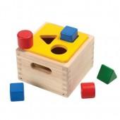 Plan Toys - Caixa de Formas Geométricas