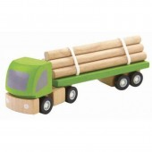Plan Toys - Camião Carga Madeira