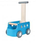 Plan Toys - Carrinha Azul de Empurrar