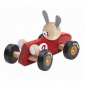 Plan Toys - Carro de Corrida Coelho