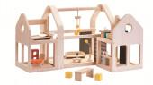 Plan Toys - Casa Bonecas Slide N Go