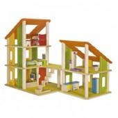 Plan Toys - Chalet Casa de Bonecas com Mobília II