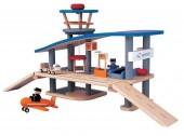 Plan Toys - Conj. Aeroporto Madeira