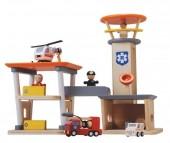 Plan Toys - Conj. de Resgate Madeira