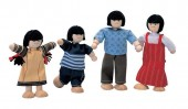 Plan Toys - Conj. Figuras Casa Bonecas