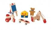 Plan Toys - Conj. Para Casa Boneca Madeira