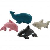 Plan Toys - Conjunto Animais Marinhos