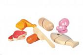 Plan Toys - Conjunto Carne e Peixe