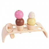 Plan Toys - Conjunto de Gelados Pastel Collection