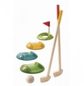 Plan Toys - Conjunto mini-golf