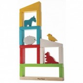 Plan Toys - Constrói um Zoo